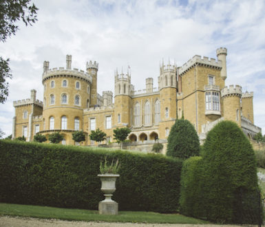 Belvoir Castle is spelt B E L V O I R but pronounced beever