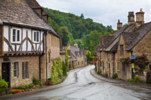 Castle Combe, a very charming village in the Cotswolds area of the UK