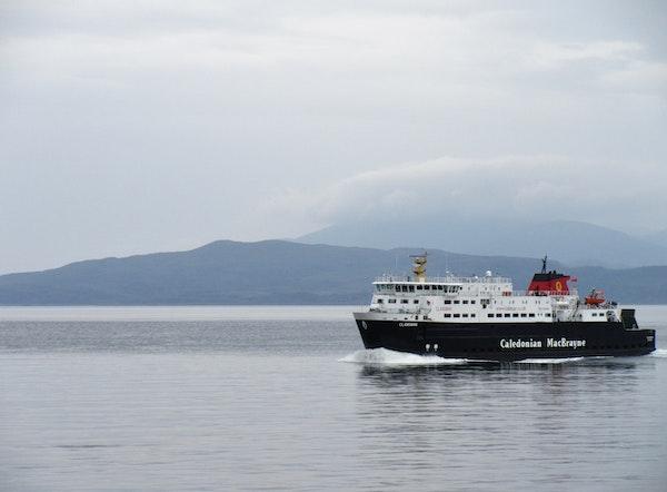 Ferry between Scottish islands